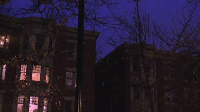 an apartment building stands in philadelphia. - philadelphia pennsylvania stock videos & royalty-free footage