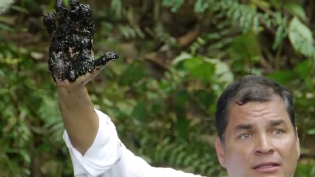 An appeals court in The Hague cancels $95 billion in damages handed down by an Ecuadoran court against American energy giant Chevron for causing oil...