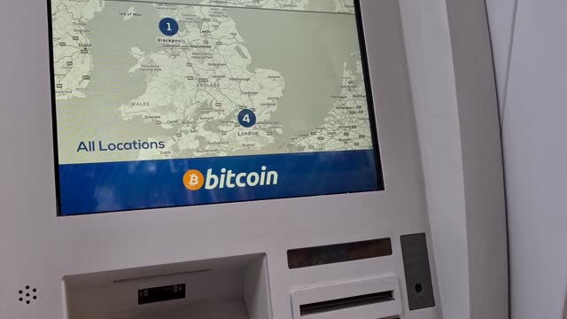 GBR: Bitcoin ATM in London