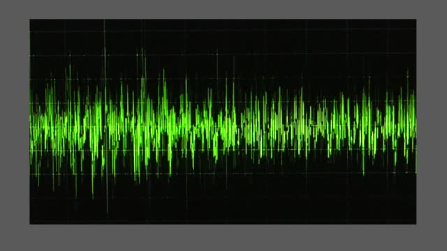 an audio waveform indicates voice levels, as trump claims 3,000 pounds of ballots were shredded in fulton county. during a january 2 taped phone... - georgia us state stock videos & royalty-free footage
