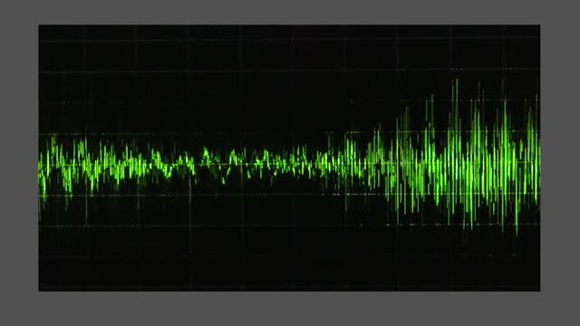 an audio waveform indicates voice levels, as trump claims 5,000 dead people voted in the georgia runoff election. during a january 2 taped phone... - georgia us state stock videos & royalty-free footage