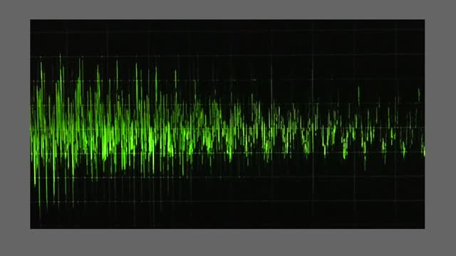 an audio waveform indicates voice levels, as trump claims dead people voted in michigan in the presidential election. during a january 2 taped phone... - georgia us state stock videos & royalty-free footage