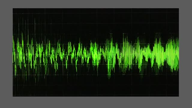 an audio waveform indicates voice levels, as trump claims he won georgia by hundreds of thousands of votes. during a january 2 taped phone call,... - wave pattern stock videos & royalty-free footage