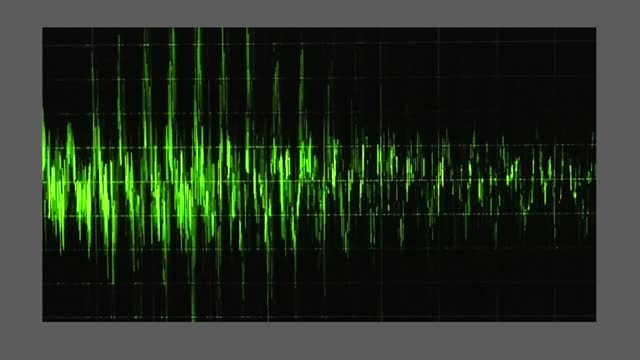 an audio waveform indicates voice levels, as trump claims the truth will come out about the georgia election results. during a january 2 taped phone... - wave pattern stock videos & royalty-free footage