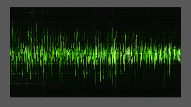 an audio waveform indicates voice levels of conversations journalist bob woodward recorded with donald trump during february and march of 2020. in... - wave pattern stock videos & royalty-free footage