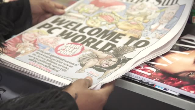 an australian newspaper defiantly republished a controversial cartoon of tennis star serena williams on its front page wednesday slapping aside... - racism stock videos & royalty-free footage