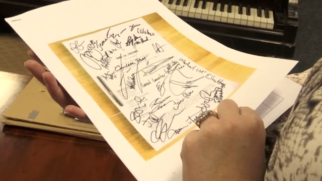 an autographed original game of thrones script bought in a pub is expected to sell for thousands at auction this month the rare piece signed by the... - aidan gillen stock videos & royalty-free footage