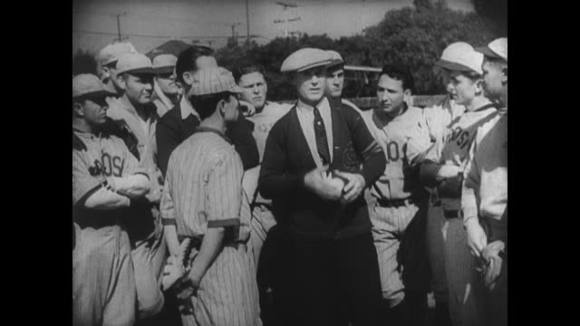 1927 An eager athlete (Buster Keaton) is chosen to play third base