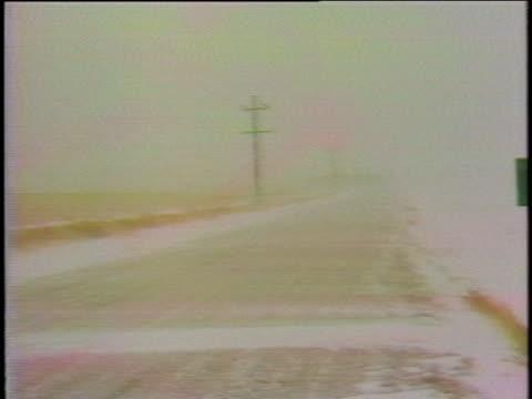 an early blizzard paralyzes colorado in october of 1979. - colorado stock videos & royalty-free footage