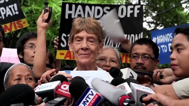 an elderly australian nun launches a last minute appeal to pursue her decades long missionary work in the philippines on the day she was to be kicked... - missionary stock videos & royalty-free footage