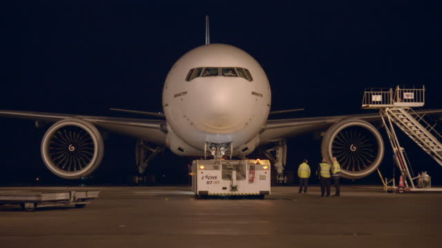 an emirates cargo plane departs - runway stock videos & royalty-free footage