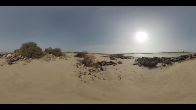 An empty beach in Portugal