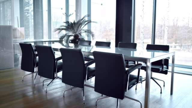 ds of an empty meeting room - no people stock videos & royalty-free footage