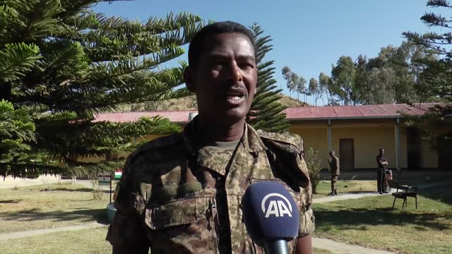 an ethiopian soldier taken hostage by the tigray people's liberation front told anadolu agency about what he experienced during the military... - war stock videos & royalty-free footage