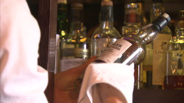 an eu court has said plans to introduce a minimum price for alcohol in scotland may be illegal the legislation was passed by the scottish parliament... - scotch whiskey stock videos and b-roll footage