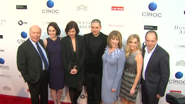 CLEAN An Evening With Downton Abbey Talent Panel QA North Hollywood CA United States 6/10/2013