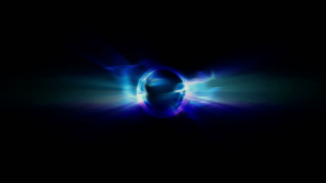 vídeos y material grabado en eventos de stock de an event horizon shoots light (loop). - supernova
