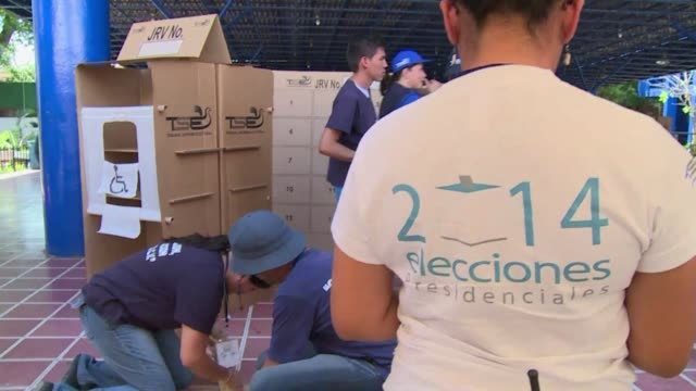an ex-guerrilla commander is favored to win an election run-off in el salvador on sunday against the capital city's mayor and inherit the twin tasks... - runoff election stock videos & royalty-free footage