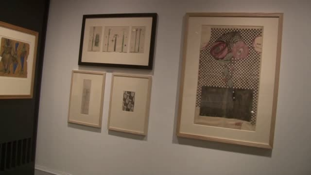 an exhibition celebrating glasgow's greatest cultural icon charles rennie mackintosh is opening to celebrate the 150th anniversary of his birth the... - charles rennie mackintosh stock videos and b-roll footage