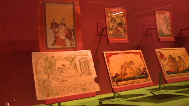 An Exhibition On The Kama Sutra Opens In Paris