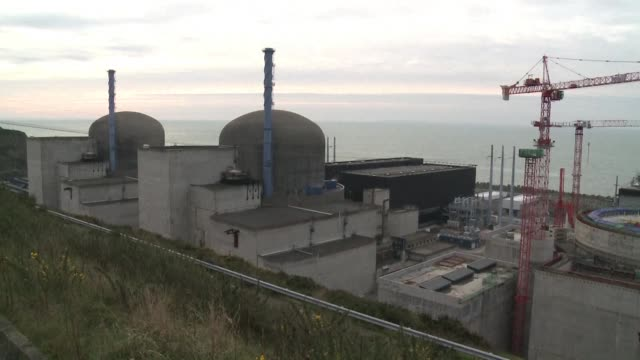 an explosion at a nuclear power plant on france's northwest coast caused minor injuries on thursday but the authorities said there was no risk of... - la manche stock videos and b-roll footage