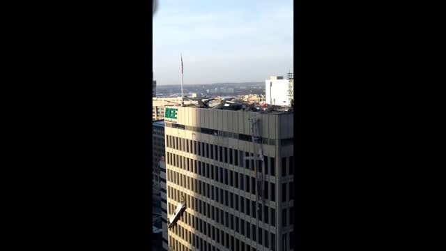 an explosion at the baltimore gas and electric building in downtown baltimore on wednesday, december 23, left two workers trapped on damaged... - https stock videos & royalty-free footage