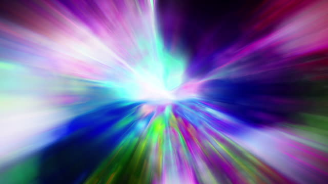 An explosion of light and color