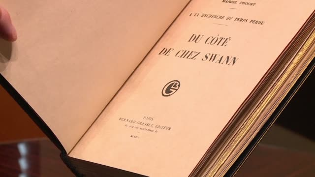 An extremely rare copy of Marcel Proust's Swann's Way is expected to sell for around half a million euros when it goes under the hammer at Sotheby's...