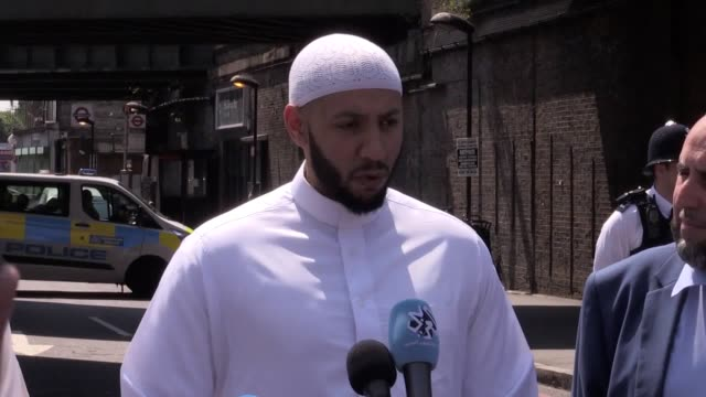An imam prevented a mob attack on the suspected terrorist van driver who just minutes earlier had mowed down Muslim worshippers at a mosque He said...