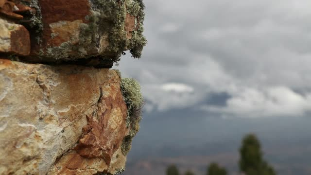 an impressive peruvian archeological site marcahuamachuco might just become the new machu picchu relieving pressure on the hugely popular ruins... - machu picchu stock videos and b-roll footage