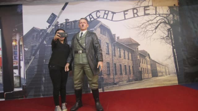 An Indonesian museum that allowed visitors to take selfies with a life size wax sculpture of Hitler against a backdrop of Auschwitz concentration...