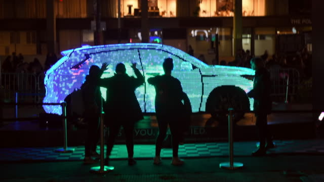 An Infinity QX50 with an interactive luminescent display Toronto Nuit Blanch is a traditional one night only art event arriving this year to its 13th...