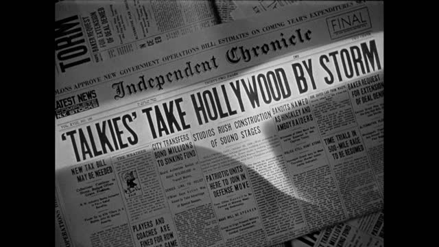 an informal history of hollywood from 1926 to 1928 - glamour stock videos & royalty-free footage