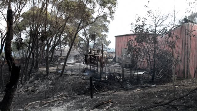 An intense bushfire razed at least five homes in South Australia Saturday with more devastation feared as firefighters struggle to contain the worst...