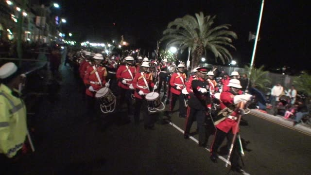 an international field heads to bermuda for a fun filler race weekend with all the trimmings. bermuda marching band opens the festivities. three... - salmini stock videos & royalty-free footage