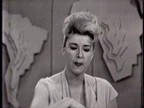 an interview with gypsy rose lee is a featured segment of the today show's 35th anniversary program. - fernsehserie stock-videos und b-roll-filmmaterial