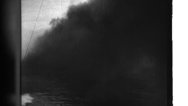 an invasion fleet lands imperial japanese forces that battle nationalist chinese strongholds and capture nanjing - convoy stock videos & royalty-free footage