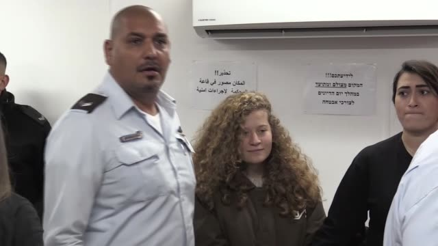 "An Israeli court on Monday extended the detention of Ahed alTamimi a 16yearold Palestinian girl detained last month by 48 hours ""pending further..."