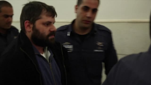 an israeli court on thursday weighed the sanity of a jewish man found to be the ringleader of the beating and burning alive of a palestinian teenager... - court stock videos & royalty-free footage