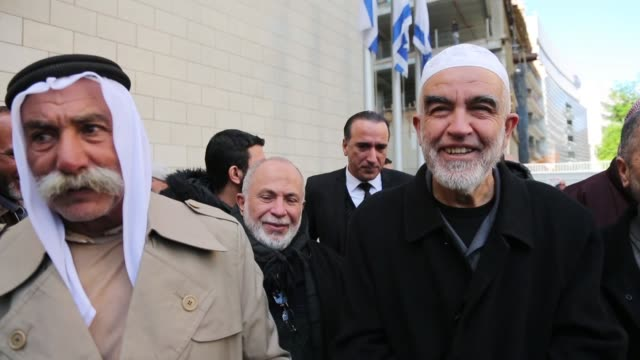 an israeli court sentenced palestinian resistance icon sheikh raed salah to 28 months in prison on february 10 2020 in haifa salah has already served... - prison icon stock videos & royalty-free footage