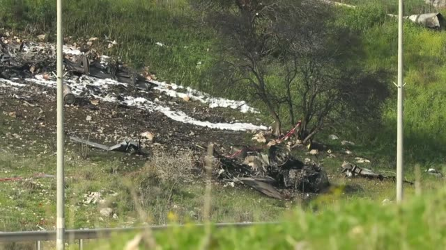 An Israeli fighter jet crashed on Saturday after coming under fire from Syrian air defences during attacks against Iranian targets in the war torn...