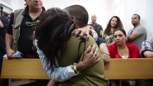 an israeli soldier caught on video shooting a wounded palestinian assailant in the head was charged with manslaughter on monday in a case that has... - jaffa stock-videos und b-roll-filmmaterial