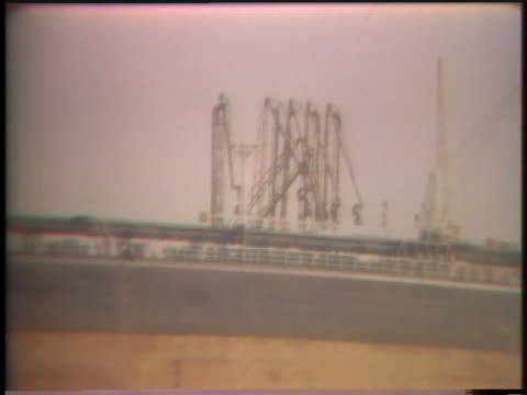 stockvideo's en b-roll-footage met an oil tanker stands docked in rotterdam - business or economy or employment and labor or financial market or finance or agriculture