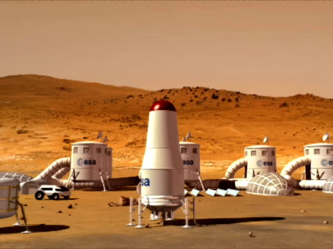 An over view of base on Mars