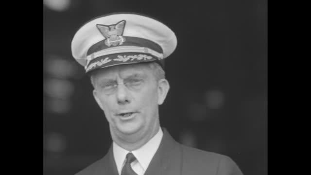an unidentified man speaks of rum running during prohibition / sot the coast guard is a deadly foe to rum runners criminals and dope smugglers he... - rum stock videos and b-roll footage