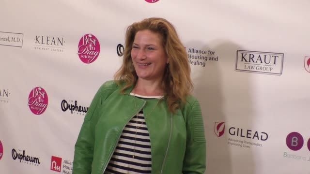 Ana Gasteyer arriving to Best In Drag Show 2016 at Orpheum Theatre in Los Angeles in Celebrity Sightings in Los Angeles