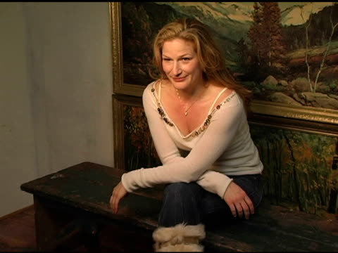 Ana Gasteyer at the 2005 HP Portrait Studio Presented by WireImage at HP Portrait Studio in Park City Utah on January 27 2005