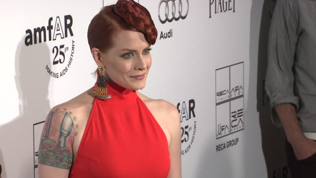 Ana Matronic at the 2nd Annual amfAR Inspiration Gala New York Arrivals at New York NY
