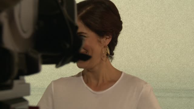 ana ortiz at 54th montecarlo television festival day 2 on june 08 2014 in montecarlo monaco - day 2 stock videos & royalty-free footage