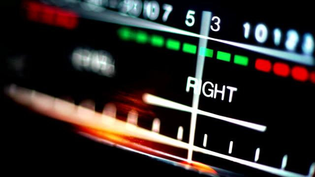 analog audio vumeter